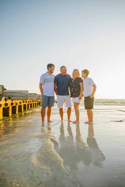 Anna Maria Island Family Photos at South Coquina Beach