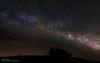 The Milky Way from Forca di Presta