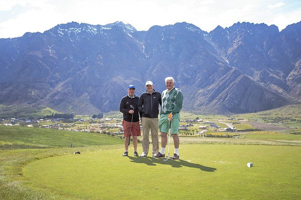 20151114 Peter Garty, Dave Hadfield and Graham Archer at Jacks Point - 2015 RWGC ParTee Trophy _MG_4162 a
