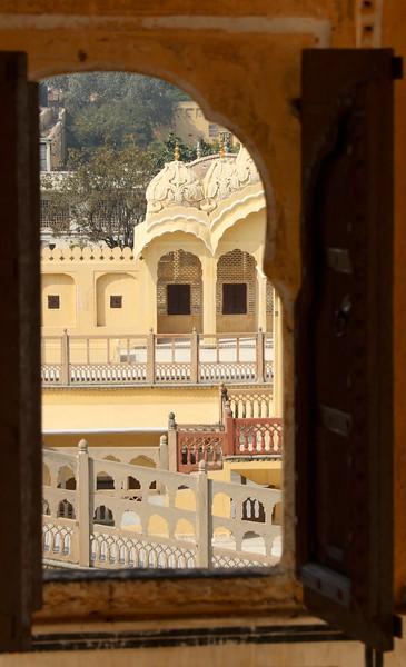 More tiny windows to peek through! - Hawa Mahal, Jaipur