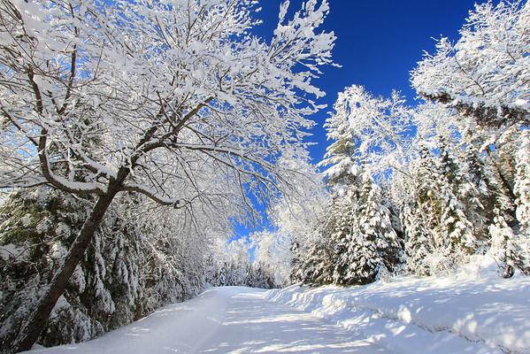 Winter in Northern Wisconsin & Upper Peninsula of Michigan
