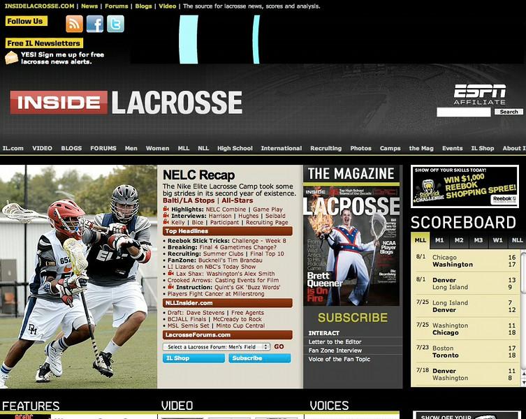 InsideLacrosse.com