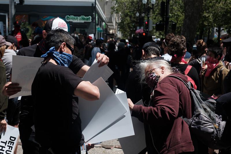 Protest Police Brutality - Oakland 2020.06.07