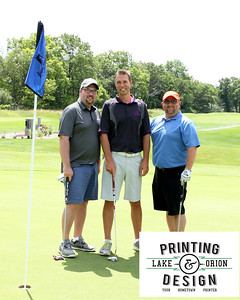 Lake Orion Chamber Golf Outing 2017