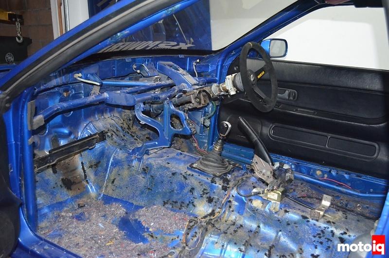 ark bnr32 interior before