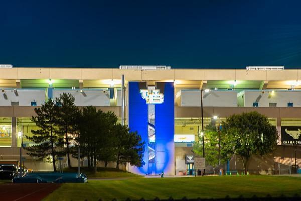 210364 Athletics, Light It Up Blue, Fieldhouse, Alumni, UB Stadium