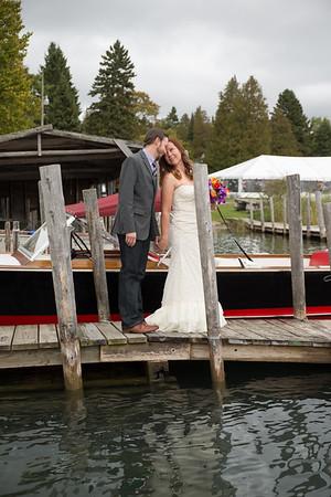 Jeni + Darrin Les Cheneaux Landing Wedding Photography