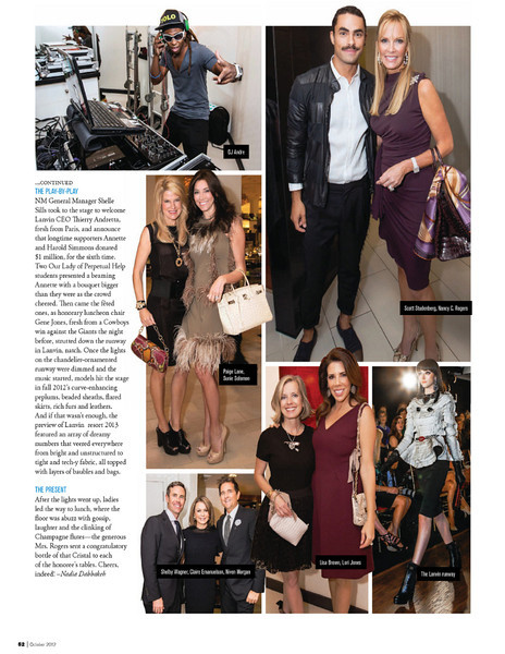 Crystal Charity 10 Best Dressed Luncheon 2012