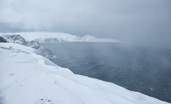Knivskjellodden from North Cape