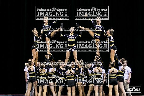 T.L. Hanna High School State Cheer 2018