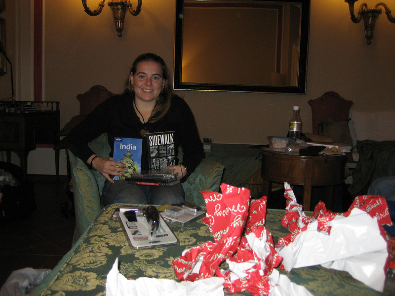 Christmas in March in Rome - Cheryl.