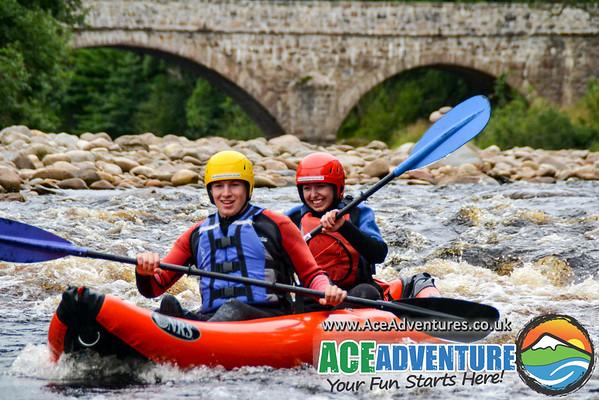 18th Aug 2015 Canoe & Kayaking
