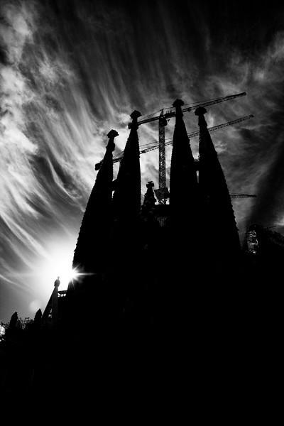 Sangrada Familia, Barcelona, Spain