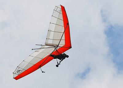 Dennis Tandem Hang Gliding - Lookout Mtn - Sept 2009