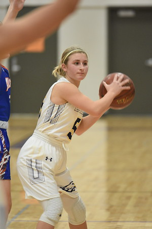 Albany @ Barneveld Girls Basketball 1-30-20