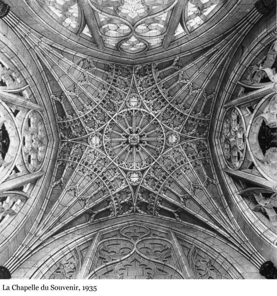 The Memorial Chamber - La Chapelle du Souvenir, 1935