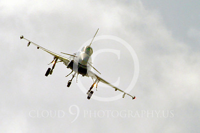 Flying British RAF Eurofighter Typhoon  Airplane Pictures