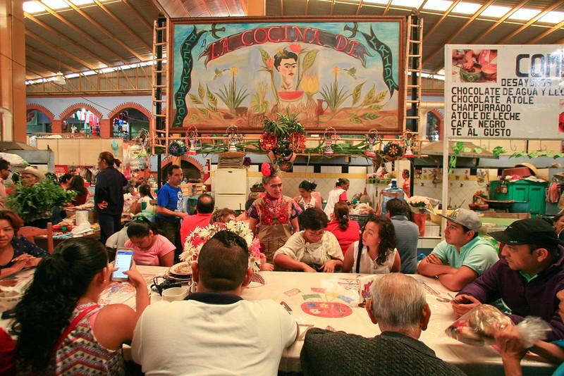 Fridas Cocina, Ocotlan Market