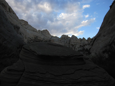 Grand Wash, Capitol Reef NP UT - 8/5/2013