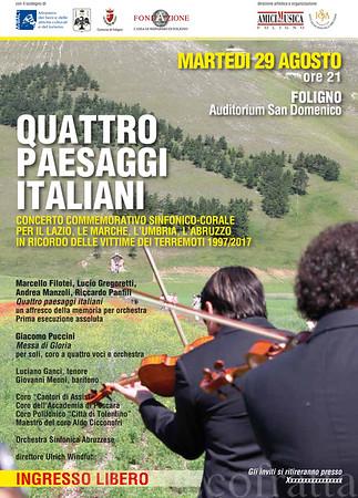 2017_08_29 QUATTRO PAESAGGI ITALIANI
