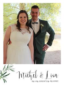 bruiloft michel & Lisa