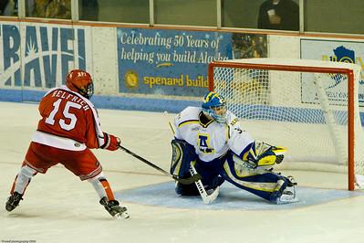 RPI vs UAF, Brice Goal Rush, Oct 2009