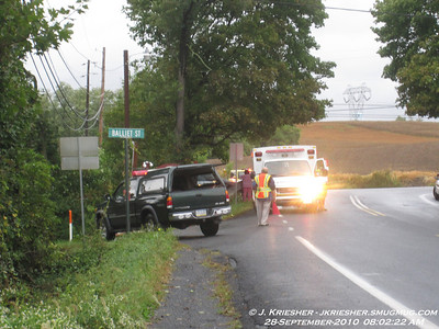 Lehigh County - N. Whitehall Twp. - MVA with injury - 9/28/2010