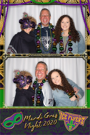 Ice Flyers Mardi Gras 1-11-20 w Pensacola Photo Booth