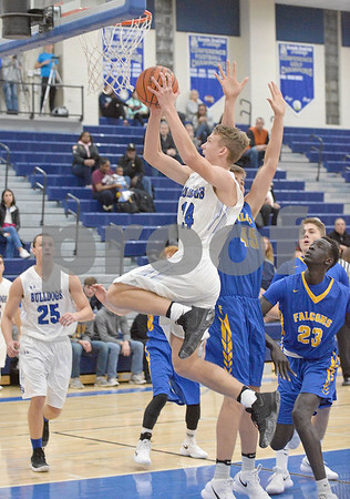 Riverside Brookfield vs Wheaton North boys basketball