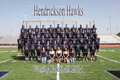 Hendrickson Seniors Football 2014