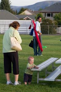 Stredwicks after Soccer Game