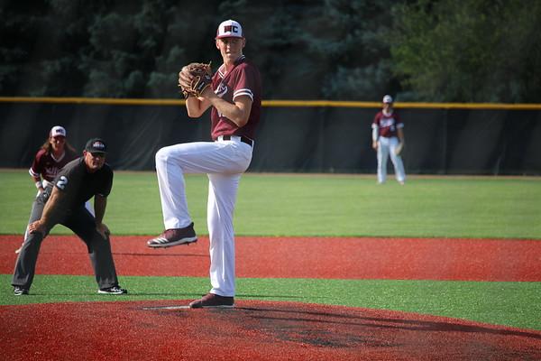 Western Christian baseball versus Sioux Center: Class 2A District 4 baseball tournaments 7-13-19