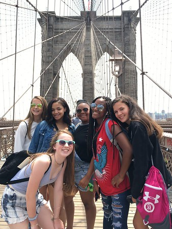 Eighth Graders Explore and Learn in New York City
