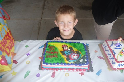 Hayden's 7th Birthday