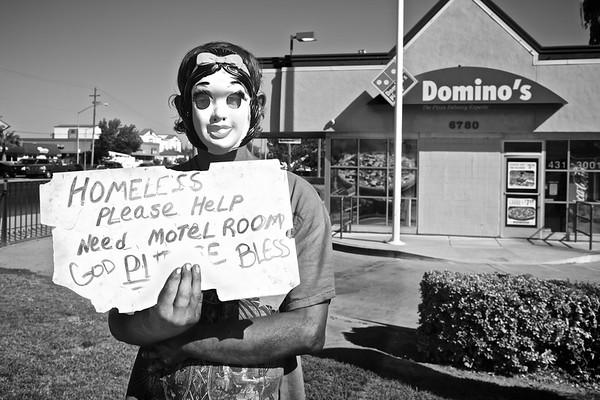 Homeless Masked