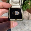 1.97ctw Antique Cluster Ring, GIA G SI2 56