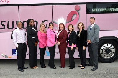 Pink Bus Unveiling at Good Sam
