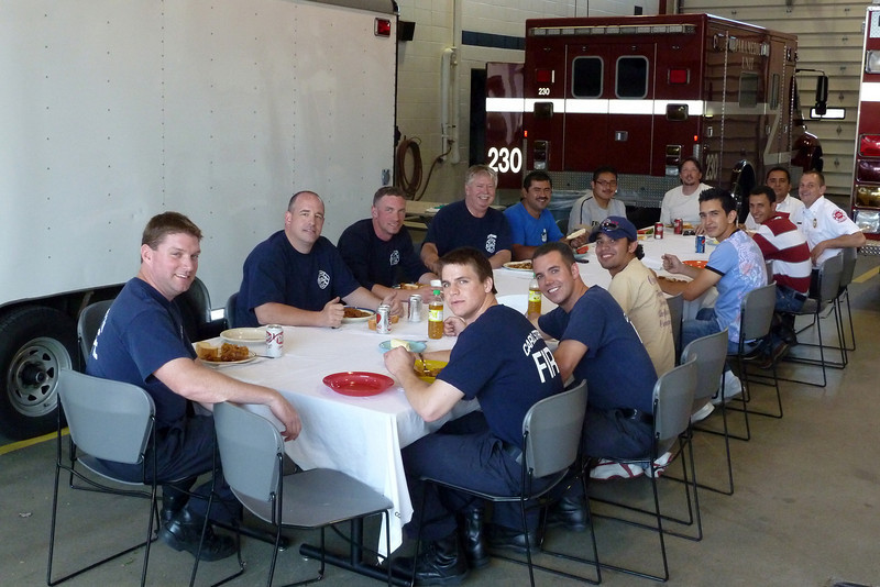 Guatemala Firefighters having didder with C.S.F.D..jpg