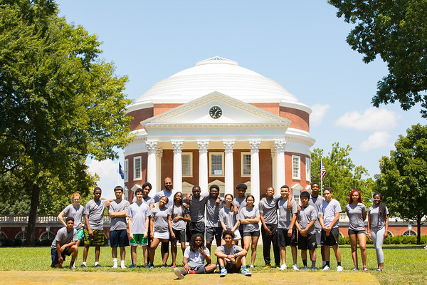 Charlottesville Summer Squad - July 2019 - University of Virginia