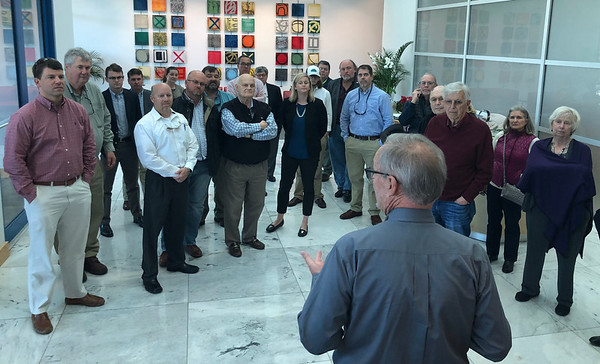 Rotary Club Tour of Interstate Centre