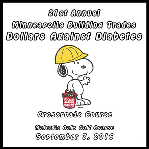 MPLS Building Trades DAD's Golf Event Sept. 7, 2016  Crossroads Course