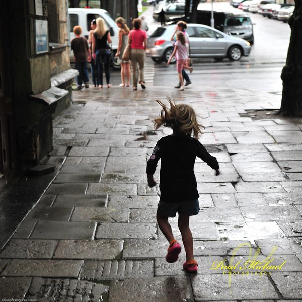 I'm dancing in the rain!