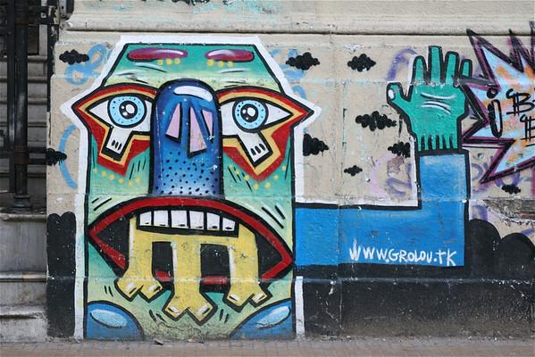 D 12-07 Buenos Aires, La Boca & Cordoba, Argentina - Graffiti