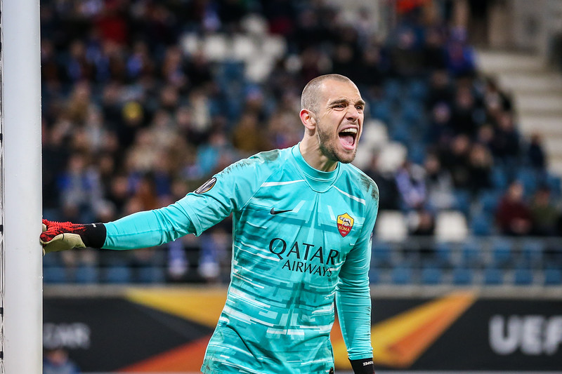 27-02-2020: Voetbal: KAA Gent v AS Roma: Gent