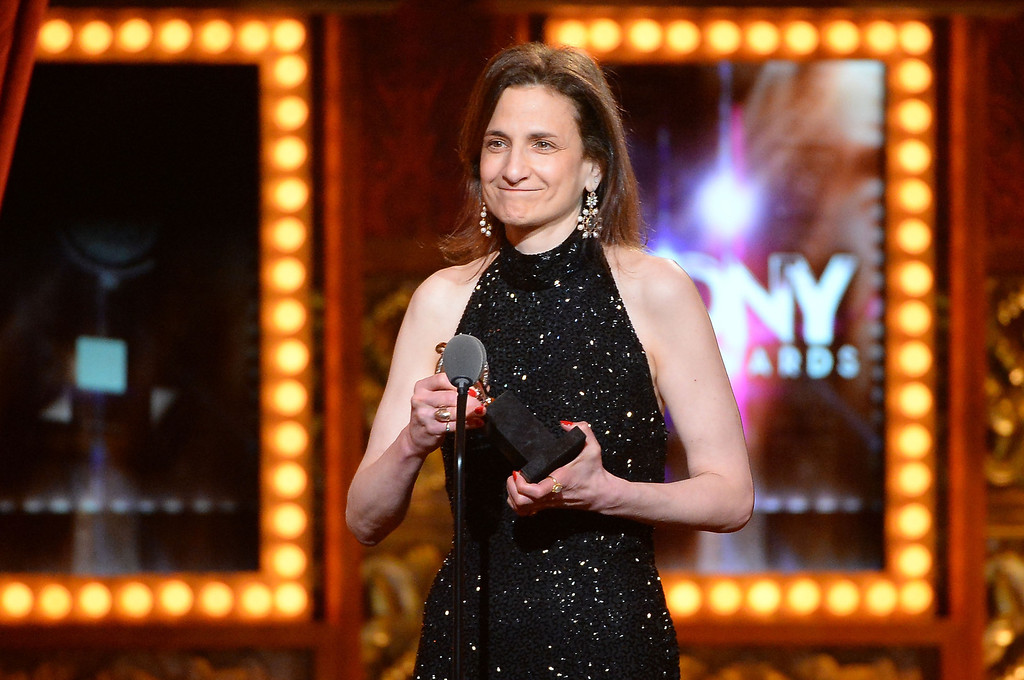 . Natasha Katz accepts the award for Best Lighting Design of a Play for \'The Grass Menagerie\'  onstage during the 68th Annual Tony Awards at Radio City Music Hall on June 8, 2014 in New York City.  (Photo by Theo Wargo/Getty Images for Tony Awards Productions)