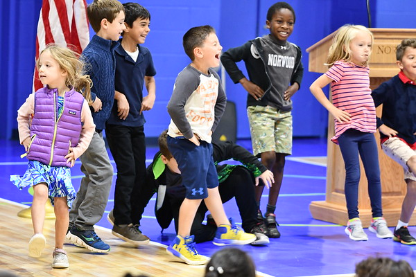 First Graders Show How We All Can-Can Support Manna & LPF!