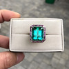 11.77ct Tourmaline Halo Ring by Leon Mege, AGL Cert 20