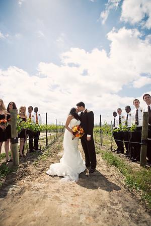 Brett + Arriele Wedding