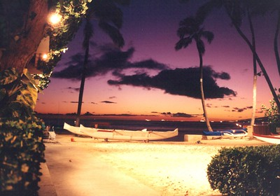 Outrigger Canoe Club Sunsets
