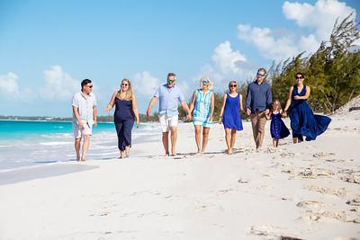 The Mahloy's,  Vacation Photo Shoot. Exuma, Bahamas.